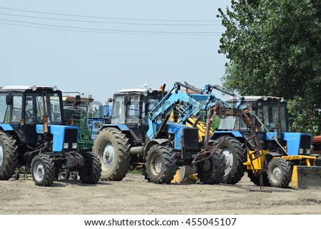 Road Grader Heavy Earth Moving On Stock Photo 371403682 - Shutterstock
