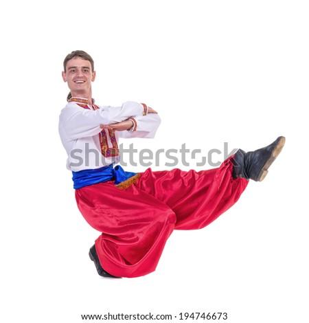 how to do the quat kick dance