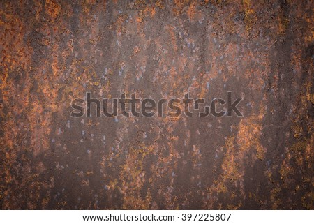 Rust background.