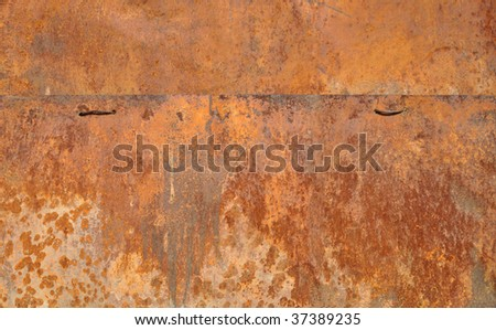 rusty surface great as a background