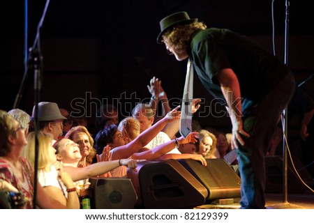 SACRAMENTO, CA - JULY 29: The Tubes perform at Thunder Valley Casino and Resort in Lincoln, California on July 29th, 2011