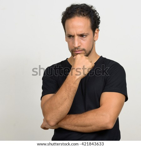 Man Ready Fight Stock Photo 421859095 - Shutterstock