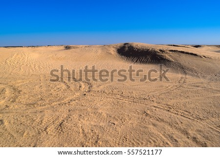 Sahara - the Greatest Desert and world's largest desert after Arctic and Antarctica