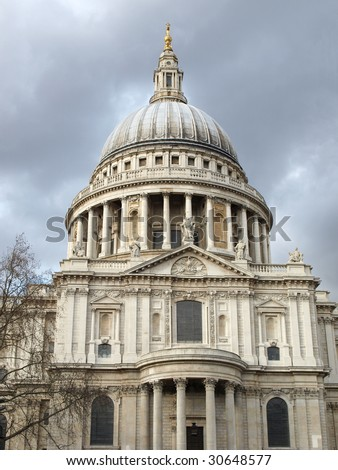 Saint Paul's Cathedral in the City of London, UK