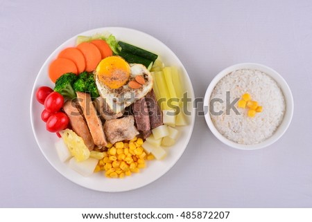 Japanese food stock photo 428373988 shutterstock for Fish and veggie diet