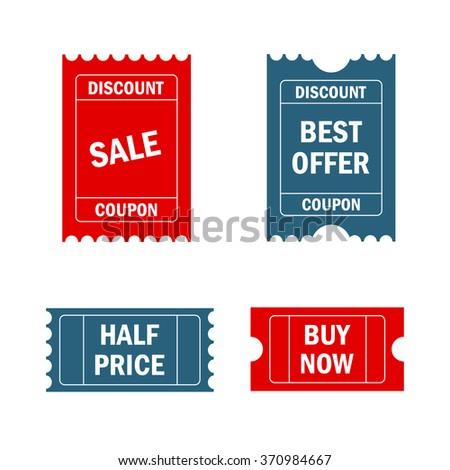 Secret label discount coupon