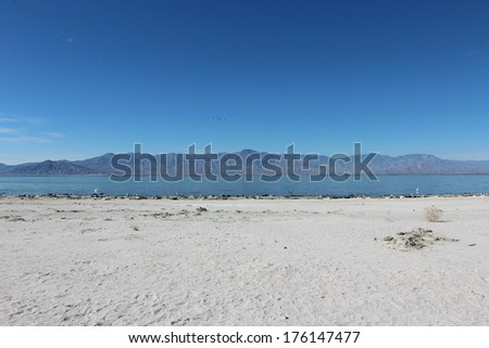 Salton Sea California Landscape