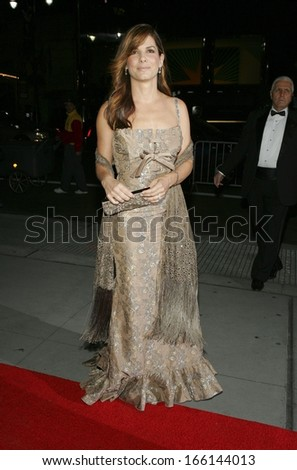 Sandra Bullock at The Fashion Group International's Night of Stars, Cipriani Restaurant 42nd Street, New York, NY, October 27, 2005