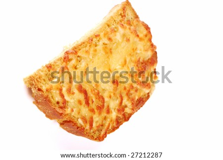 Sandwich with cheese for fast meal or a breakfast from coffee.
