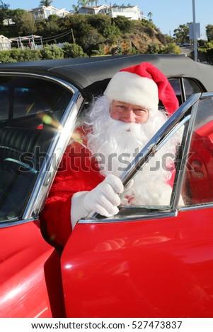 Man Washing Red Car Stock Photo 333154079 Shutterstock