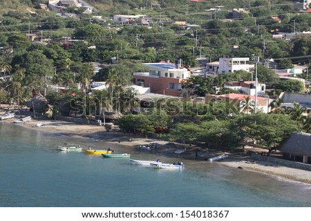 SANTA-MARTA,COLOMBIA - November13:Santa Marta is a city and municipality in the North of Colombia's Caribbean coast.Center of the Department of Magdalena. Maritime city of Santa Marta13 November 2012.