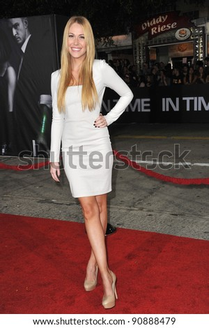 "Sarah Carroll at the Los Angeles premiere of ""In Time"" at the Regency Village Theatre, Westwood. October 20, 2011  Los Angeles, CA Picture: Paul Smith / Featureflash"
