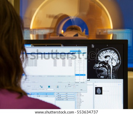 Scanner brain MRI X-ray hospital