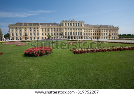 schonbrunn vienna austria capital imperial city