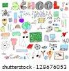School Doodle - stock vector