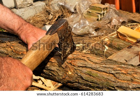 Medieval Tannery Old Tools Leather Tanning Stock Photo