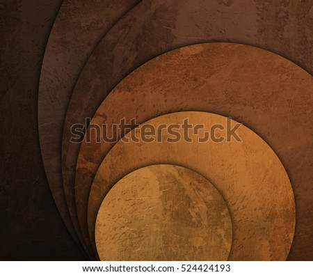 scratched and old round plates background
