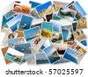 Sea holiday photograph - stock photo