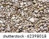 Sea stones as a background - stock photo