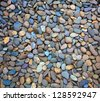 Sea stones background. - stock photo