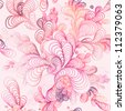 Seamless abstract hand-drawn pattern. - stock photo