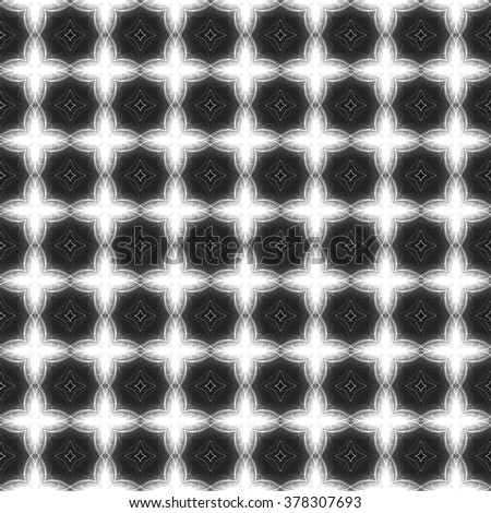 Seamless abstract pattern; abstract ornaments; floor tiles; wallpaper or background; game texture; digitally rendered