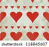 Seamless background with card suits - stock vector