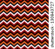 Seamless chevron background pattern - stock vector