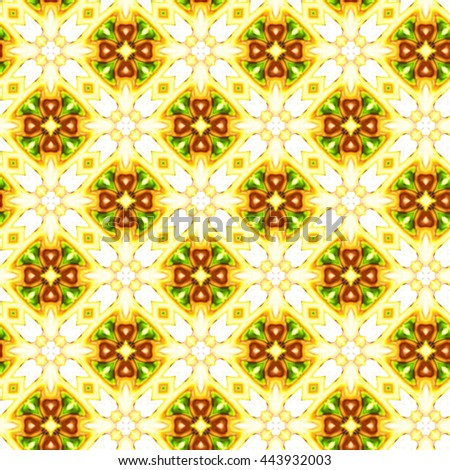 Seamless colorful ornament for design and background
