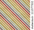 Seamless diagonal strokes pattern on paper texture - stock photo