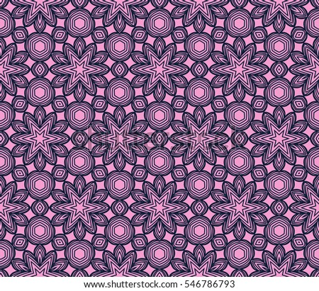 Seamless floral raster copy illustration design for greeting cards backgrounds. purple. for design, printing