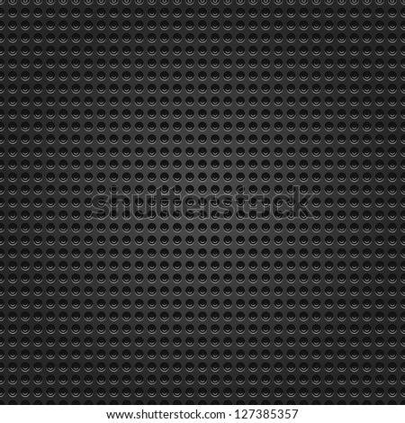 Seamless Texture Perforated Subtle Pattern Black Stock