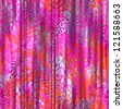 seamless pink animal curtain background - stock photo