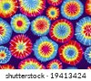 Seamless Repeating Tie Dye Background - stock photo