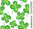 Seamless  St. Patrick`s Day  pattern. - stock vector