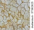 Seamless texture of plaster on a wall with cracks - stock photo