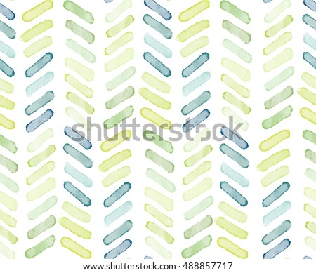 Seamless watercolor abstract dots pattern, hand painted background