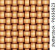 Seamless Woven Texture - stock photo