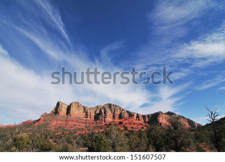 Sedona Arizona, Red Rock Secret Mountain Wilderness Area/ Sedona/The red rock capital of Arizona, with  rock formations, high peaks and open sky, one of the best family vacations spots of all times.