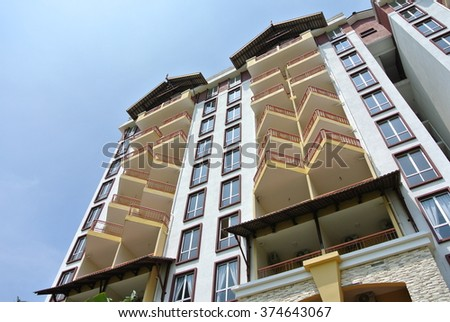 Modern Luxury Apartment Building Stock Photo Shutterstock
