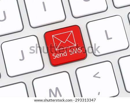 Send SMS Computer Keyboard