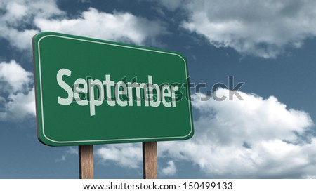 September creative Sign