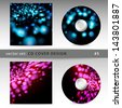 Set of cd cover design template design. For vector version, see my portfolio. - stock photo