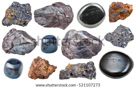 polished andesite and diorite set igneous rock specimens pegmatite basalt stock photo 483433831