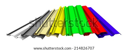 seven pieces vinyl siding panels