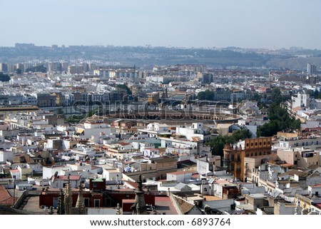 Seville and its Bullring.
