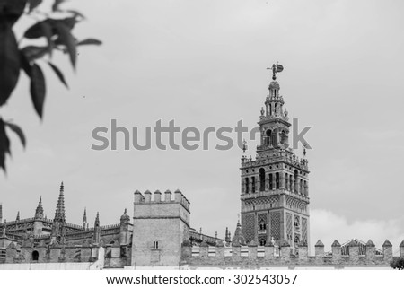 SEVILLE, SPAIN: Cathedral
