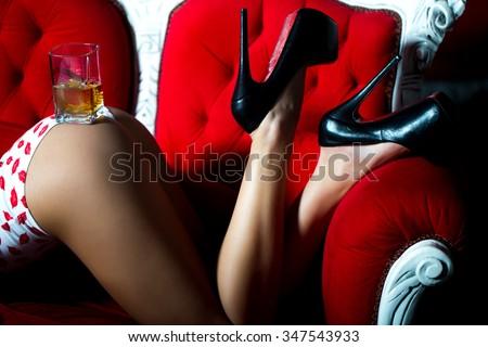 women straighten legs during sex