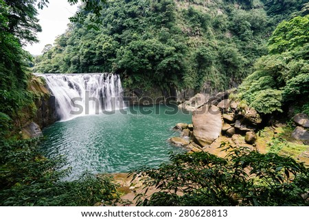 Shifen Waterfall, New Taipei,  Taiwan