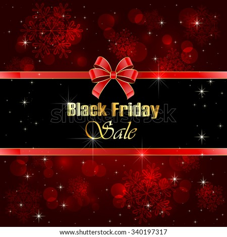 shiny background black friday sale blurry stock vector 336947777 shutterstock. Black Bedroom Furniture Sets. Home Design Ideas